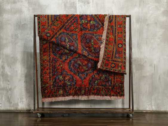 Antique one-sided lint-free carpet - photo 5