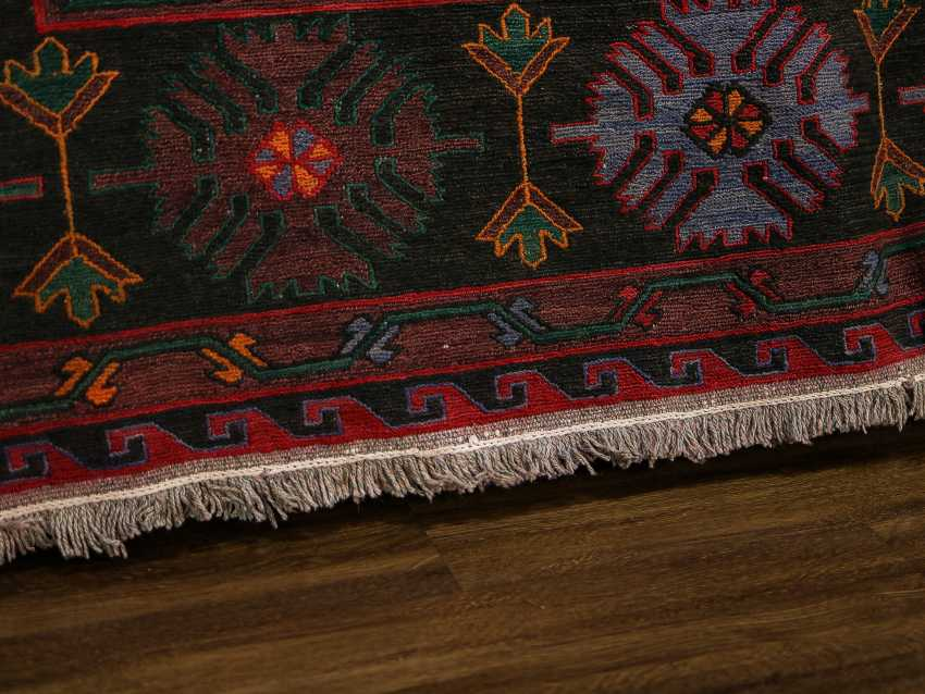 Antique one-sided lint-free carpet - photo 2