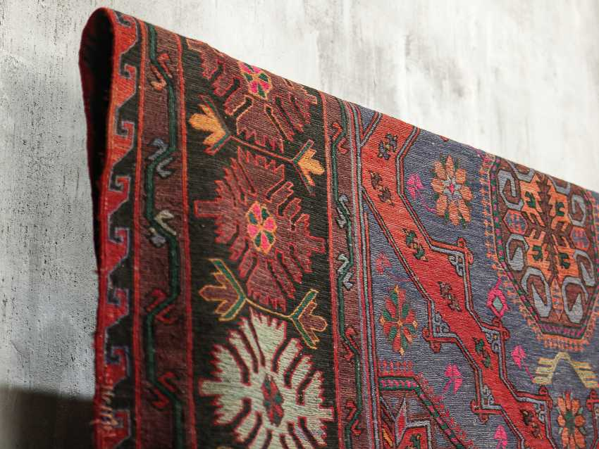 Antique one-sided lint-free carpet - photo 3