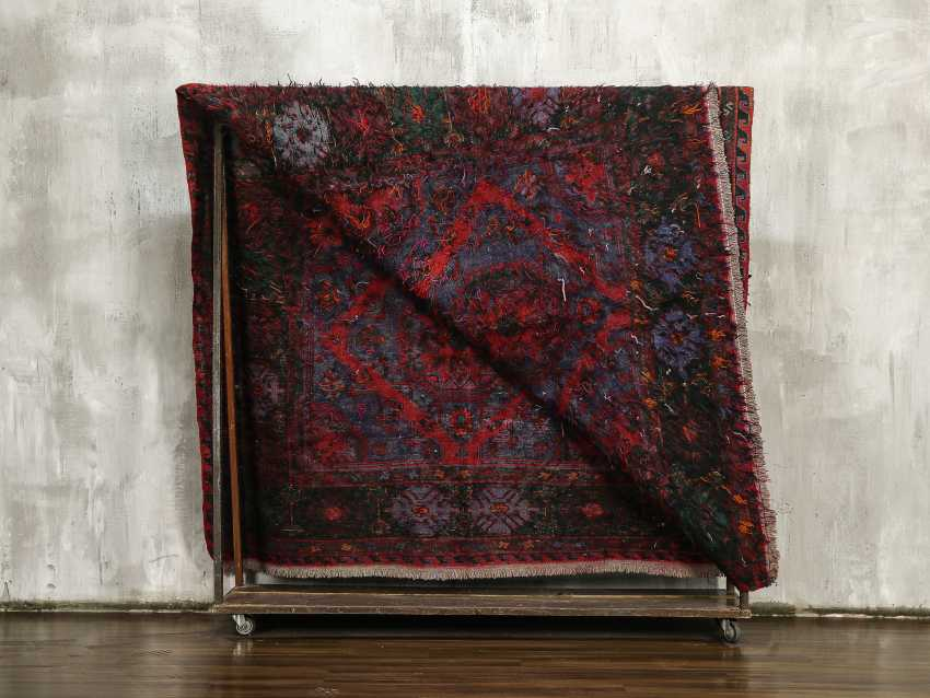 Antique one-sided lint-free carpet - photo 4