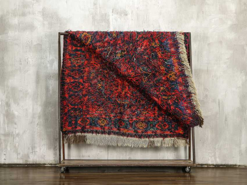Antique single-sided lint-free carpet - photo 3