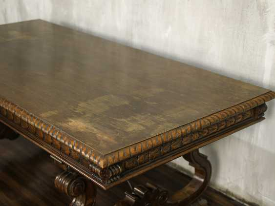Antique carved dining table - photo 5