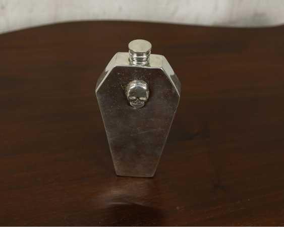 Antike Schädelflasche - Foto 1