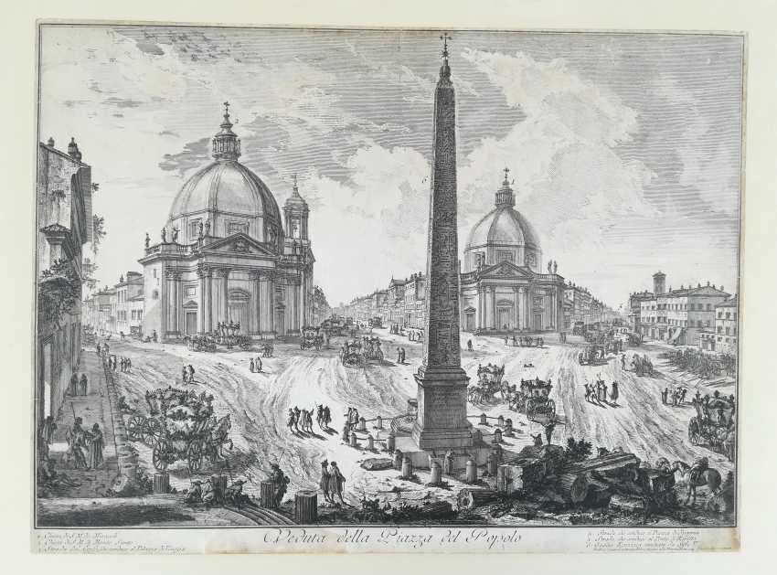 View of the Piazza del Popolo - photo 1