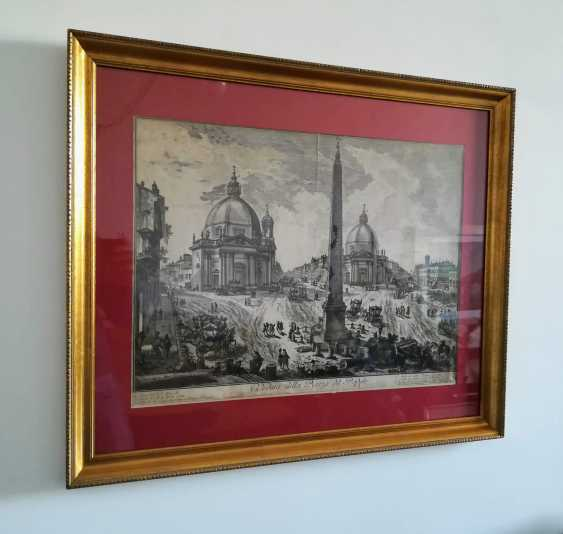 View of the Piazza del Popolo - photo 2
