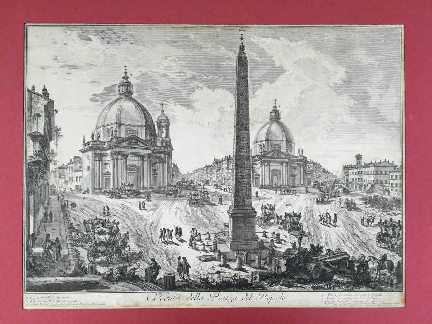 View of the Piazza del Popolo - photo 3