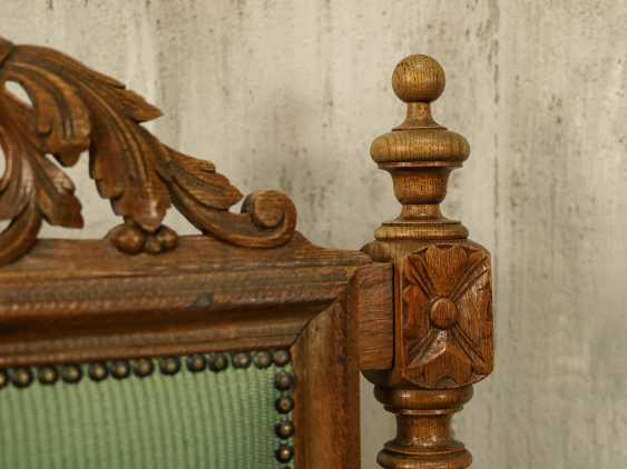 Antiker geschnitzter Sessel - Foto 4