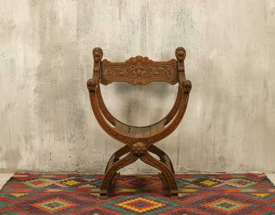Antiker Curule Stuhl - Foto 1