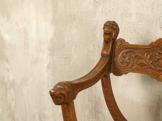 Antiker Curule Stuhl - Foto 2