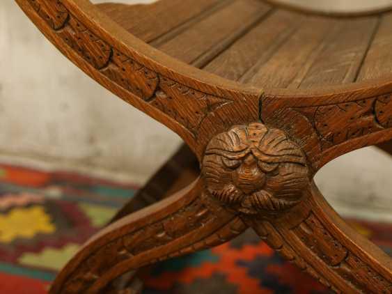 Antiker Curule Stuhl - Foto 3