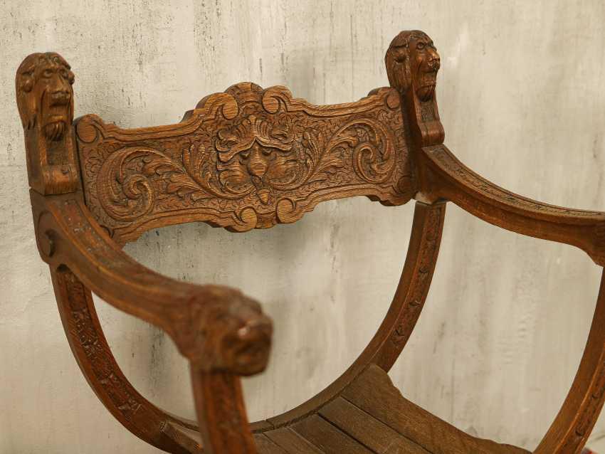 Antiker Curule Stuhl - Foto 5