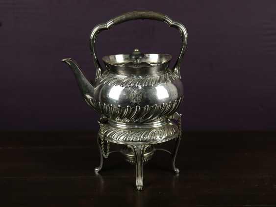 """Antique bouillotte """"Sussex Goldsmith & Co"""" - photo 1"""