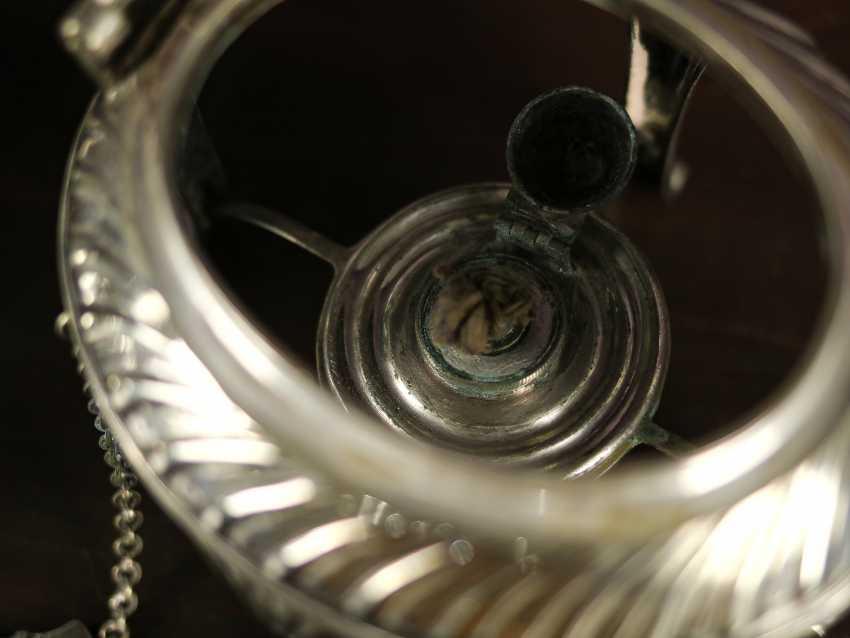 """Antique bouillotte """"Sussex Goldsmith & Co"""" - photo 6"""