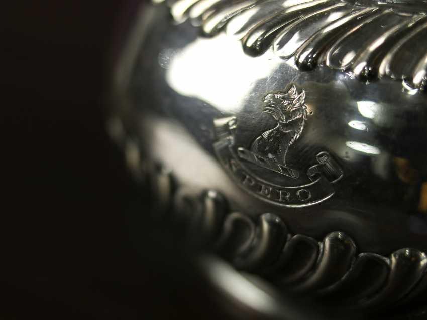 """Antique bouillotte """"Sussex Goldsmith & Co"""" - photo 7"""