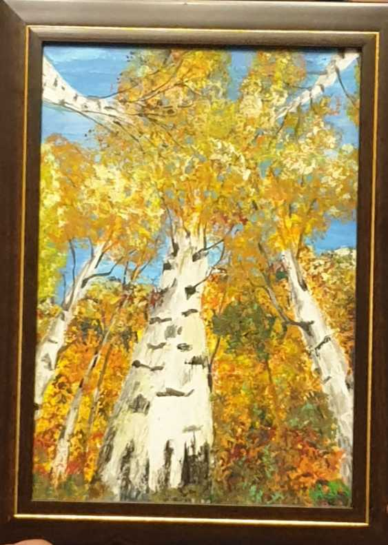 Natasha Matishak. Birch trees. - photo 3