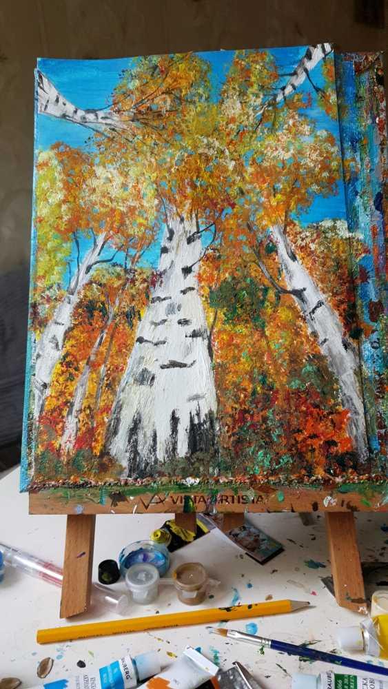 Natasha Matishak. Birch trees. - photo 4