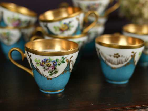 Antique set of 12 coffee cups - photo 6