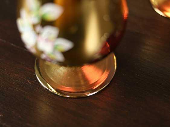 Antique set of 6 cognac glasses - photo 5