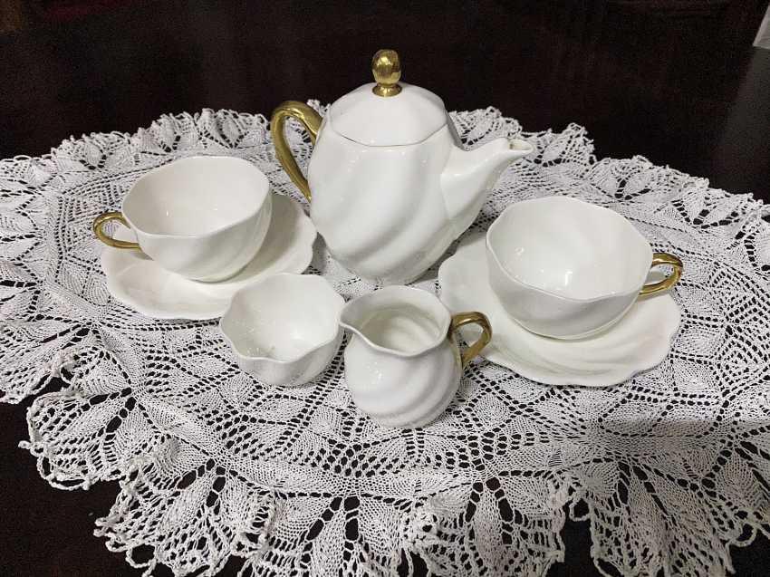 Antique tea set - photo 1