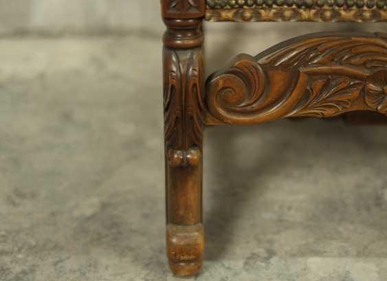 Antique throne chair - photo 5