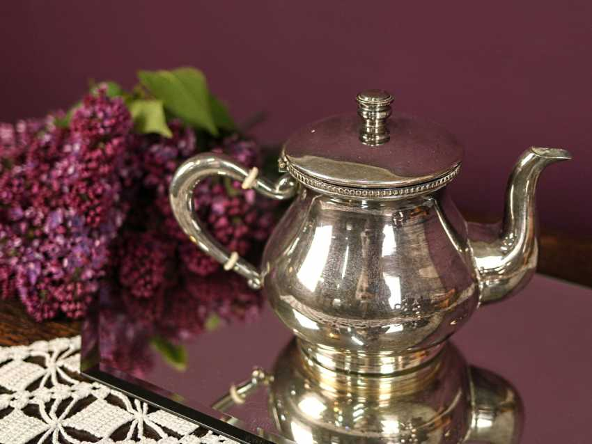 Antique coffee and tea set - photo 5