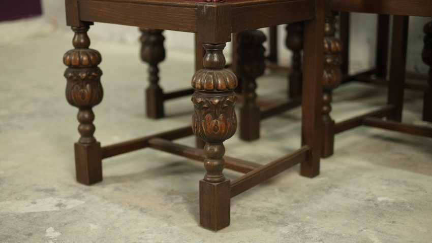 Set of six antique chairs - photo 2