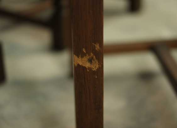 Set of six antique chairs - photo 3
