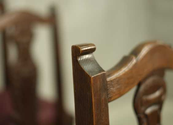 Set of six antique chairs - photo 4