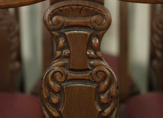 Set of six antique chairs - photo 5
