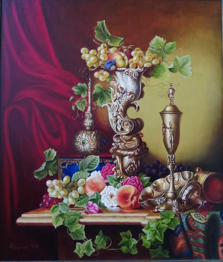"""Natalya Parshina. """"Fruit in an ivory vase"""". - photo 1"""