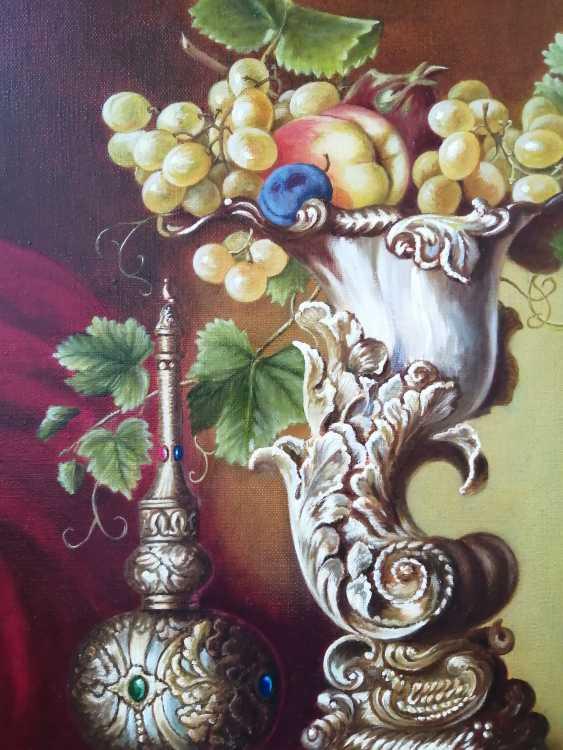 """Natalya Parshina. """"Fruit in an ivory vase"""". - photo 2"""