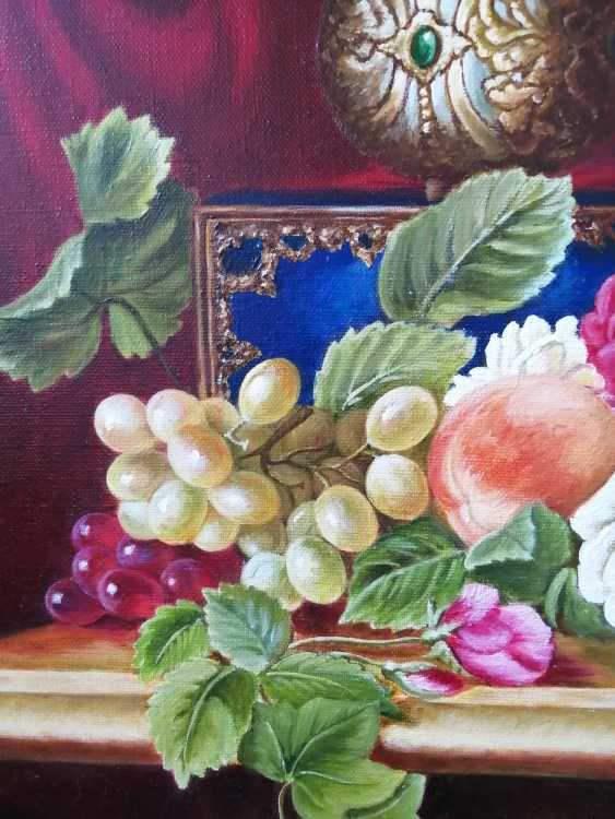 """Natalya Parshina. """"Fruit in an ivory vase"""". - photo 3"""