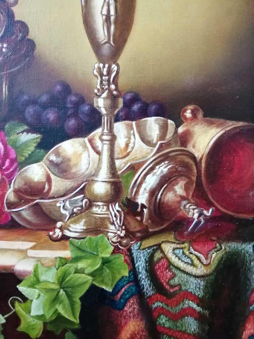 """Natalya Parshina. """"Fruit in an ivory vase"""". - photo 4"""