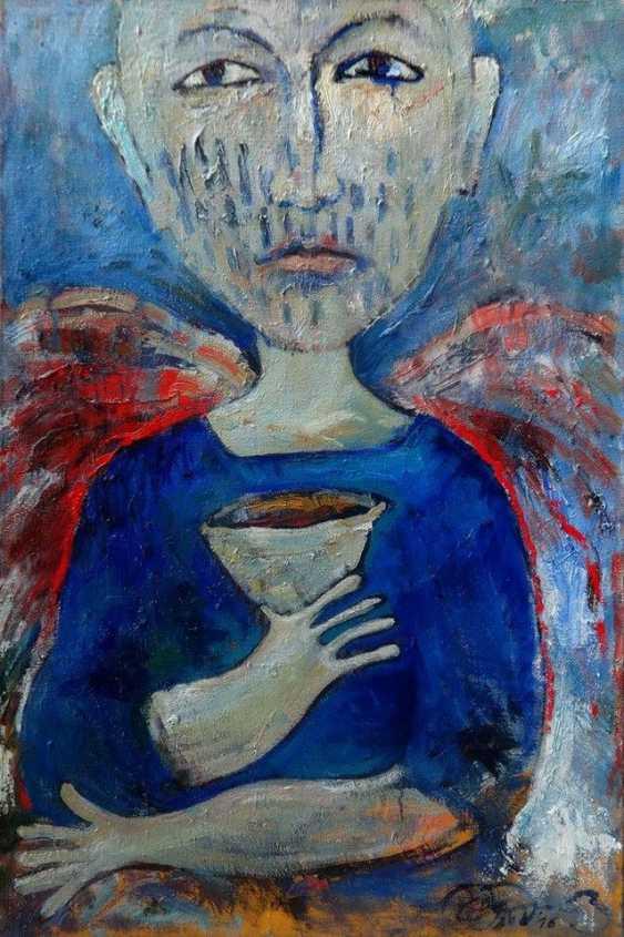 Gennady Boukhanov. Engel mit einer Schüssel - Foto 1