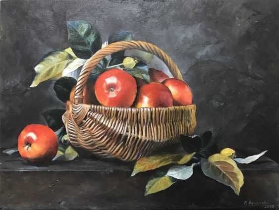 Svetlana Arkhipova. Apples in a basket - photo 1