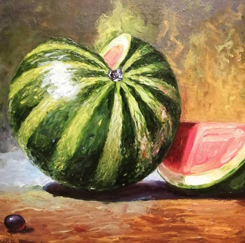 """Natalya Parshina. """"Still life with watermelon"""" - photo 2"""