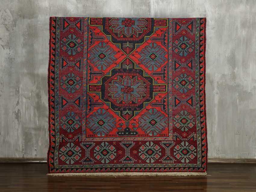 Antique single-sided lint-free carpet - photo 1