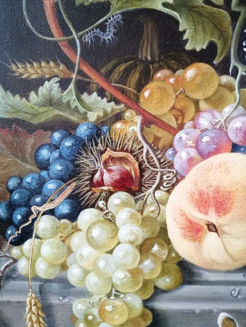 "Natalya Parshina. ""Still life with fruit in a niche"" - photo 2"