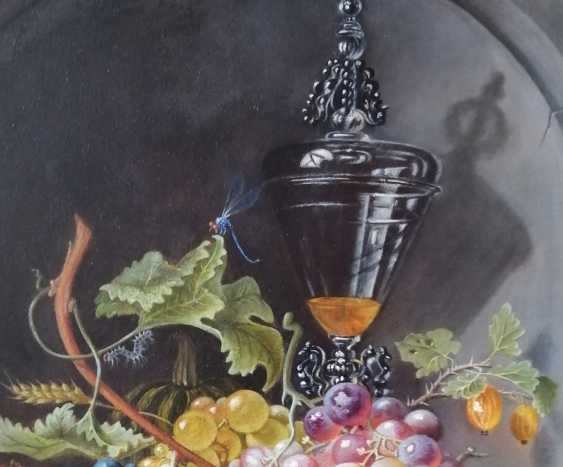 "Natalya Parshina. ""Still life with fruit in a niche"" - photo 3"