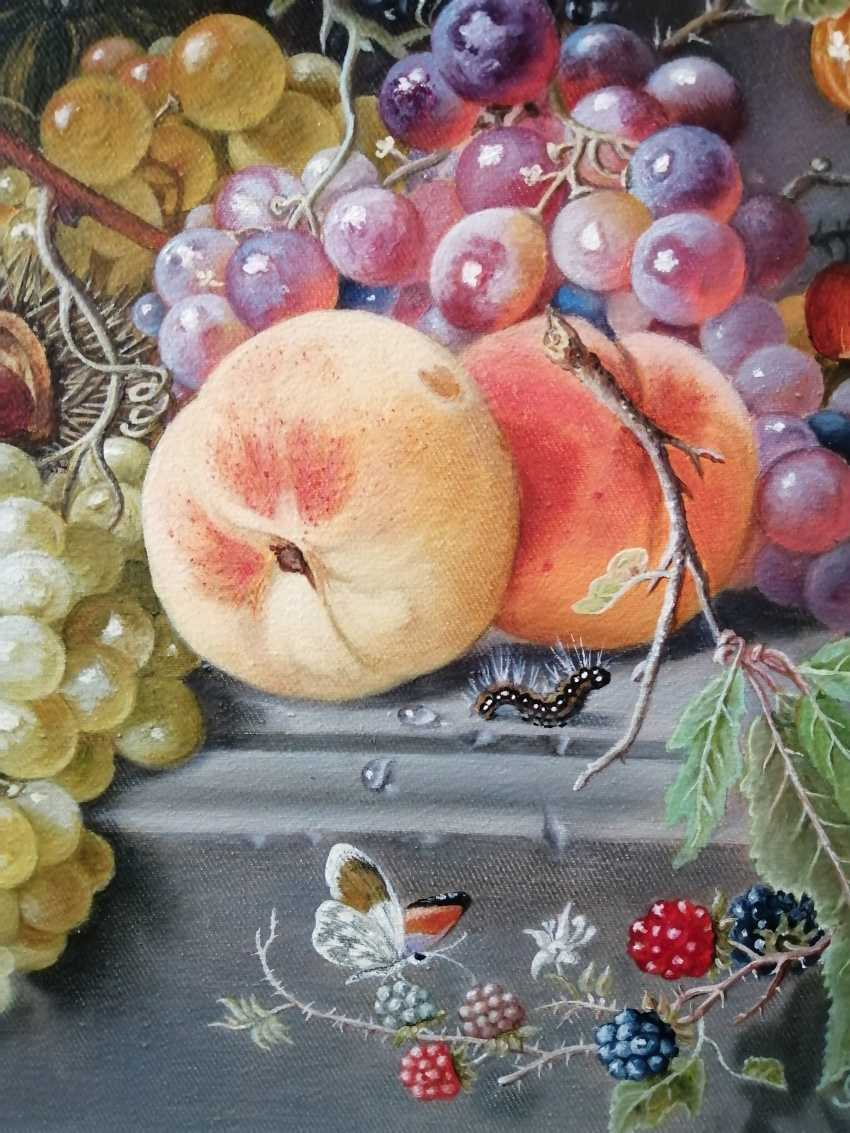 "Natalya Parshina. ""Still life with fruit in a niche"" - photo 4"