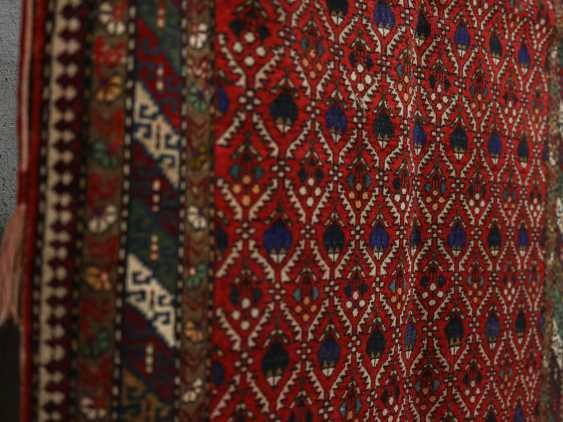 Antique one-sided pile carpet - photo 3