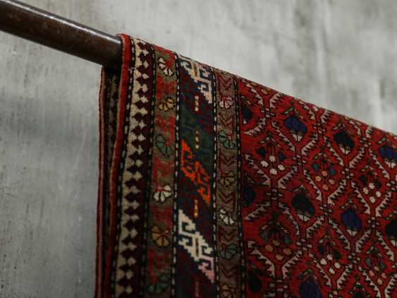 Antique one-sided pile carpet - photo 5