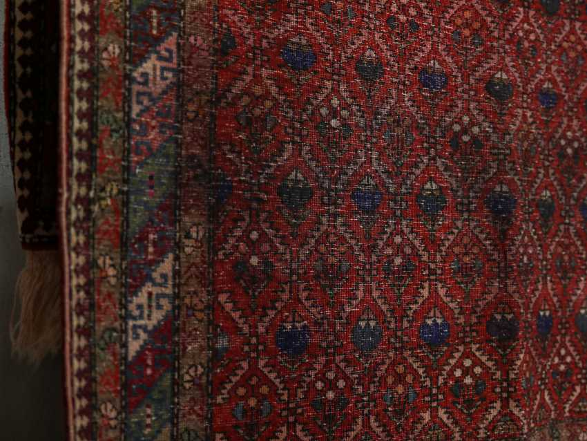 Antique one-sided pile carpet - photo 7