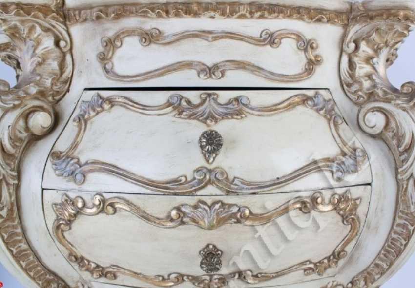 White Italian chest of drawers - photo 2
