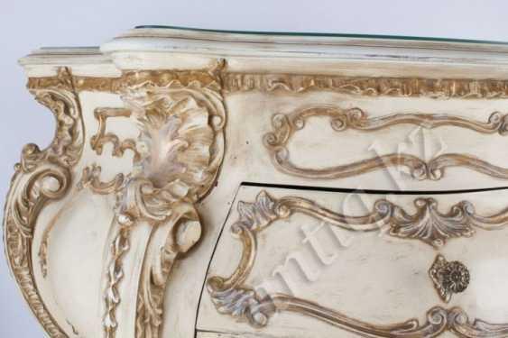 White Italian chest of drawers - photo 3
