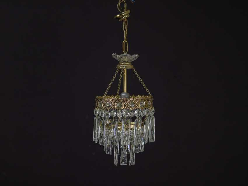 Vintage set of 6 chandeliers - photo 1