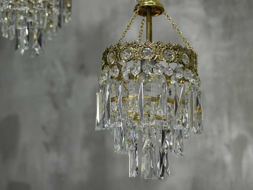Vintage set of 6 chandeliers - photo 6