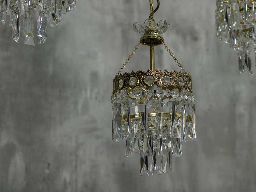 Vintage set of 6 chandeliers - photo 8