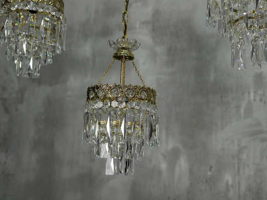 Vintage set of 6 chandeliers - photo 9