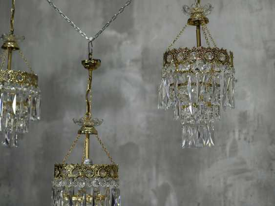 Vintage set of 6 chandeliers - photo 10